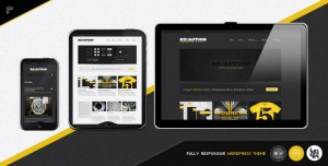 $50 Reaction WP : Responsive, Rugged, Bold