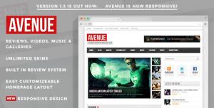 $45   Avenue - A WordPress Magazine Theme