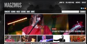 $40  Magzimus  Blog & Magazine theme