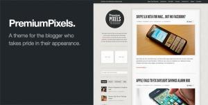 $50  Premium Pixels-Fancy Pants Blog-Magazine Theme