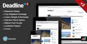 $50   Deadline - Responsive Premium WordPress News
