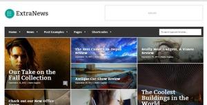 $50  ExtraNews - Responsive News and Magazine Theme